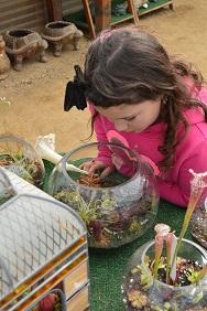 Lulu at World's Rare Plants